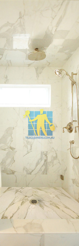 marble tiles shower wall floor calcutta polished luxury bathroom melbourne