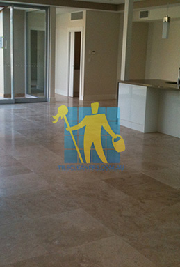 extra large porcelain floor tiles after cleaning empty room with kitchen melbourne